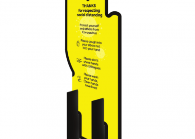 Floor Free Standing Protection Barrier
